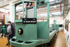 Training tram mockup