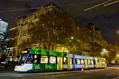 Tram on Spencer Street