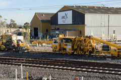 Track maintenance machinery