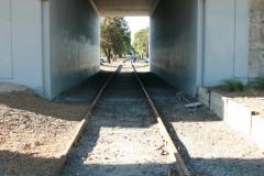 Abandoned track near Maribyrnong river