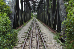Abandoned railway in Singapore