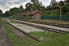 Abandoned Bukit Timah station