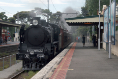 Steamrail Victoria's A2986 and Tait EMU in Essendon