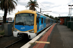 Metro Trains Melbourne EMU in Essendon