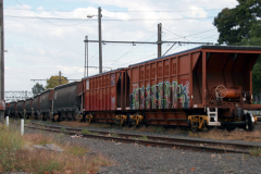 Freight cars in Kensington