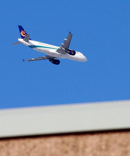 Iberworld landing in Turku