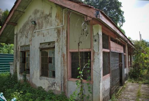 Abandoned Bukit Timah station building