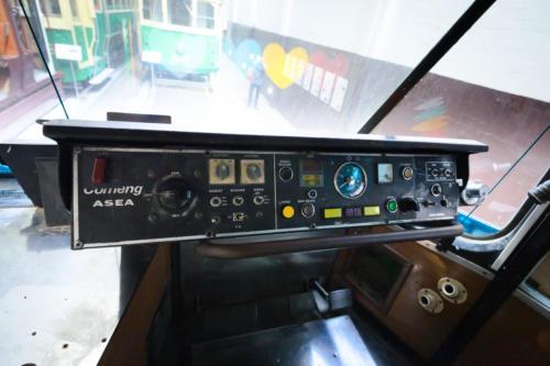 Cab of Yarra Trams Z1 Class No 81 'Karachi W11'