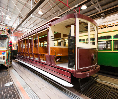 North Melbourne Electric Tramway & Lighting Company No 13