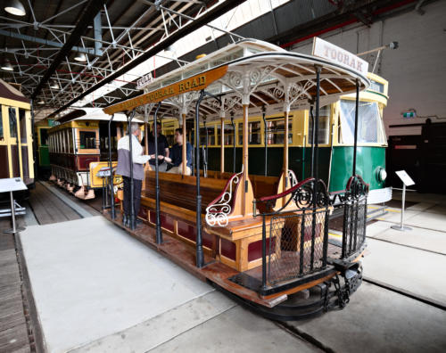 Melbourne Tramway & Omnibus Company cable tram set. Dummy nr. 28.