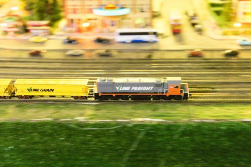 Model railway @ Lakeside